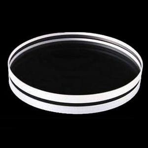 Diameter 50 mm x 5 mm LYSO(Ce) Scintillation Crystal, Double Sides Polished